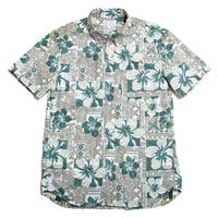 Men's Hawaiian Button Down Shirts - Hibiscus