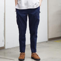 Herringbone Cargo Pants - NAVY
