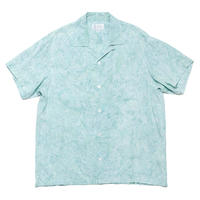 """Aquamarine Frost"" - Made in Hawaii - 100% Rayon - 02010"