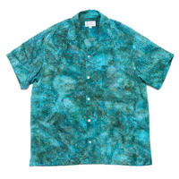 Batik Rayon Aloha Shirts - Bubble Spa / Made in Hawaii U.S.A.