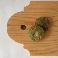モリンガとホワイトチョコレートのクッキー