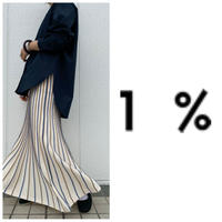スカート 1% イチパーセント