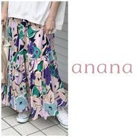 プリントスカート anana アナナ