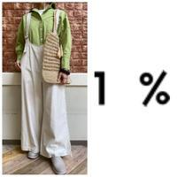 サロペット 1%  イチパーセント