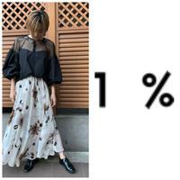 ブラウス 1% イチパーセント
