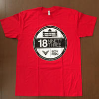 """SOVRGN """"1893 GLOW"""" RED TEE"""