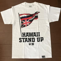 2019 AUKAKE LINE【HAWAII'S FINEST】STAND UP WHITE