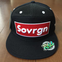 "SOVRGN ""BOX LOGO BRED"" 7Panels Hat"