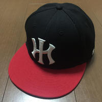 """POLY LOVE HAWAII """"PELE"""" 7'3/8 FITTED HAT"""