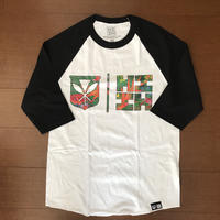 2019 AUKAKE LINE【HAWAII'S FINEST】TROPICAL RAGLAN