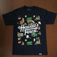 2018 APELIA LINE【HAWAII'S FINEST】RETRO001(NAVY) TEE