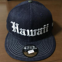 "808ALLDAY ""HAWAII OE"" DENNIM HAT"