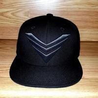 """SOVRGN """"LOGO BLACK ON BLACK"""" Hat"""