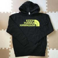 KEEP HAWAII HAWAIIAN LOGO PULL OVER HOODIE