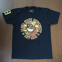 "POLY LOVE HAWAII ""NEW KANAKA"" BLK TEE"