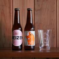 箕面ビール入門セット(おさるグラス付き)