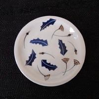 酔月窯 たんぽぽ柄6寸皿