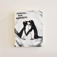 mikimikimikky1016. 「SHARING OUR HAPPINESS」アート作品・原画