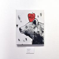 mikimikimikky1016. 「bear / りんご」アート作品・原画