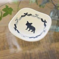 [シマムラヒカリ]しかく豆皿  フレブル柄