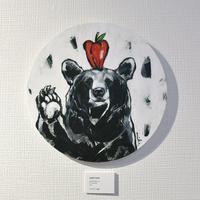 mikimikimikky1016. 「apple bear」アート作品・原画