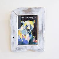 mikimikimikky1016. 「colorful bear」アート作品・原画