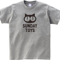 SUNDAY TOYSロゴ Tシャツ [H.GRY]
