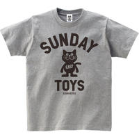 TOYS STANDARD 猫Tシャツ[H.GRAY]