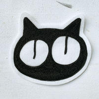 【1点もの】猫チェーン刺繍ワッペン 大きめサイズ 鎌倉製  #5