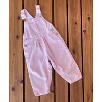 【90cm】OSHKOSH Pink Hickory Overalls