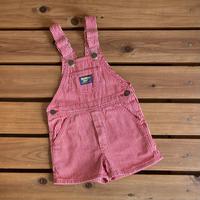 【100cm】USA OSHKOSH Hickory Shortalls