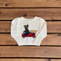 【70cm】Ralph Lauren Bear sweater