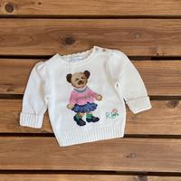 【70cm】Ralph Lauren Polo bear sweater