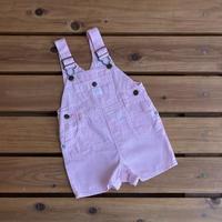 【80cm】OSHKOSH Pink hickory Shortalls