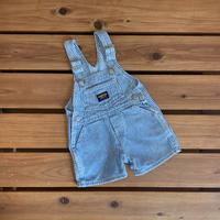 【80cm】OSHKOSH Hickory Shortalls