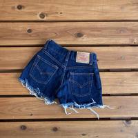 【120cm】Vintage Levi's 562 Denim Shorts
