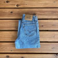 【145cm】Vintage Levi's 550 Denim Jeans(Orange tab)③