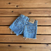 【100cm】Vintage Levi's 565 Denim Shorts(Or)