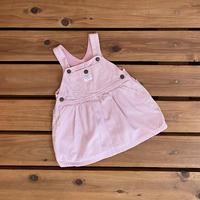 【80cm】OSHKOSH Pink hickory one-piece