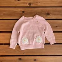 【80cm】Ralph Lauren flowers Sweater
