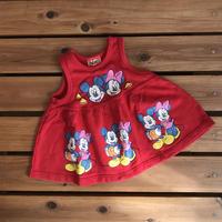【95cm】Vintage Mickey&Minnie Onepiece