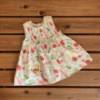 【80cm】Disney POOH vegetables Dress