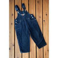 【110cm】Harley Davidson corduroy Overalls