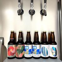 【9/30まで送料無料の限定商品!】大森山王ビール飲み比べ6本&オリジナルグラス1脚、乾杯セット