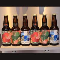 【定期便】大森山王ビール「NAOMI&GEORGE&KAORU」からお好きなものを選べる6本セット