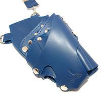シザーケース LUTINO/ルチノー 5丁用 LU-SC01BL ブルー
