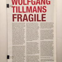 WOLFGANG TILLMANS|FRAGILE