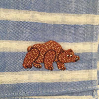 オカタオカ|ワッペン刺繍ハンカチ
