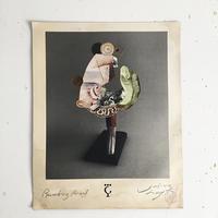 村橋貴博|Icon-Recording angel(コラージュ作品)