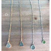 ハワイ Mo Made Jewelry  シーグラス ネックレス